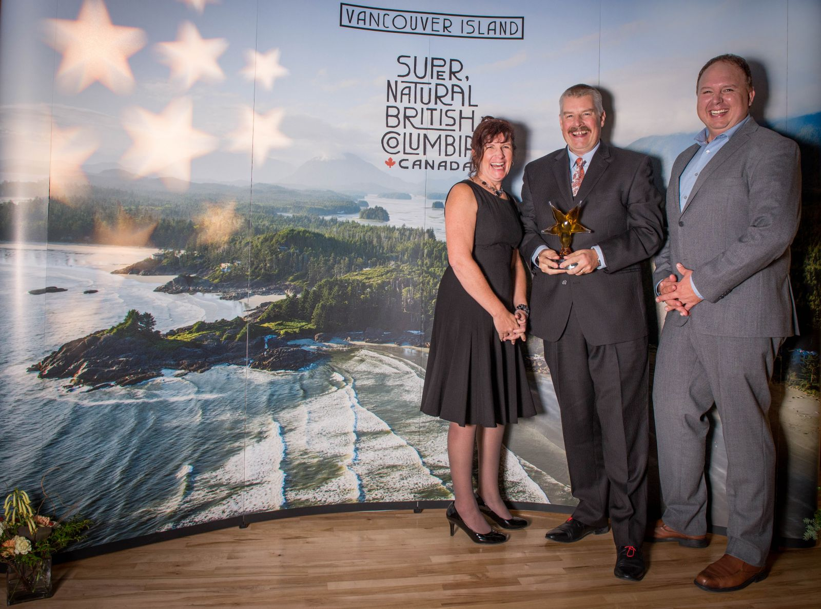 Tourism Vancouver Island Innovator of the year award for Hotel Zed