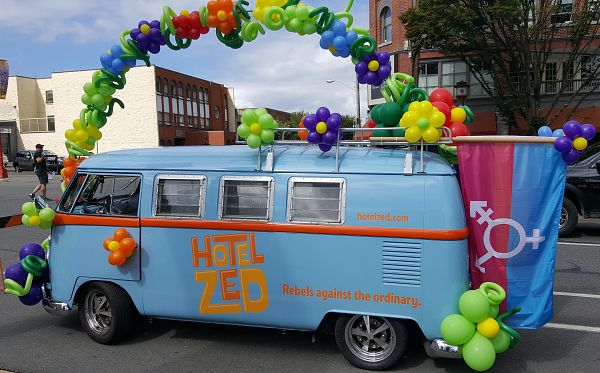 Make Hotel Zed your Pride weekend homebase