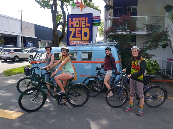 Victoria's Ultimate Bike Adventure!