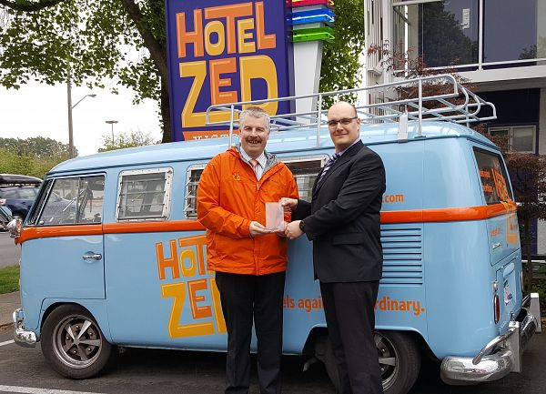 Hotel Zed Wins Superhero Award