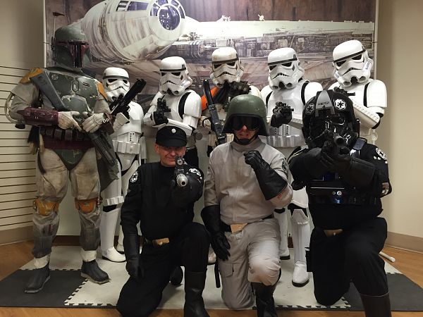501 st Legion  - CFAX Santas Anonymous Photo Fundraiser